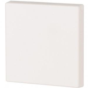 1-fach Wippe blank 55x55 Verkehrsweiß