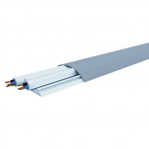 Aufbodenkanal 12/50 grau RAL 7030