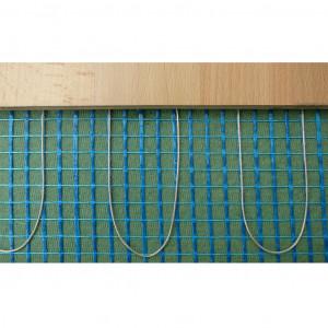 Trockenbauheizmatte 0,50 x 1,50 Meter 230V/160 Watt m2, Kaltende 2 x 4 Meter