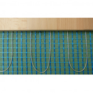 Trockenbauheizmatte 0,50 x 20,00 Meter 230V/160 Watt m2, Kaltende 2 x 4 Meter