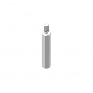 Erhöhungsmutter H=48 mm
